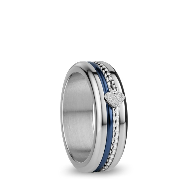 Arctic Symphony | silber glänzend | Ring BeMy