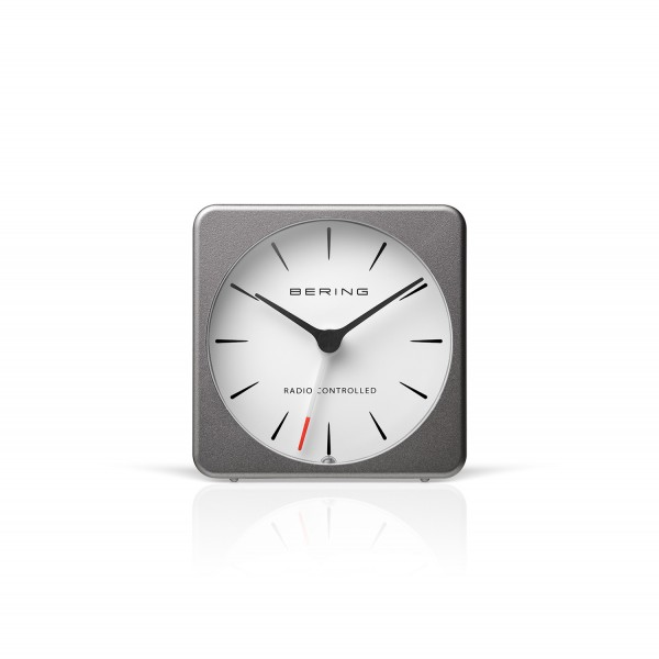 Radio-controlled alarmclock | matt grey | 91066-74S