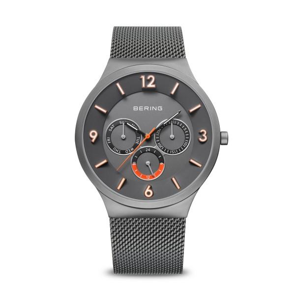 Classic   grau gebürstet   33441-377