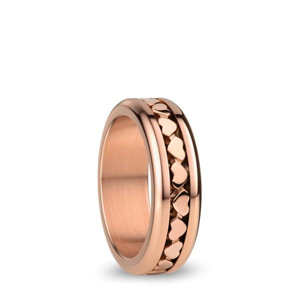Arctic Symphony | rosé gold glänzend | Oxford