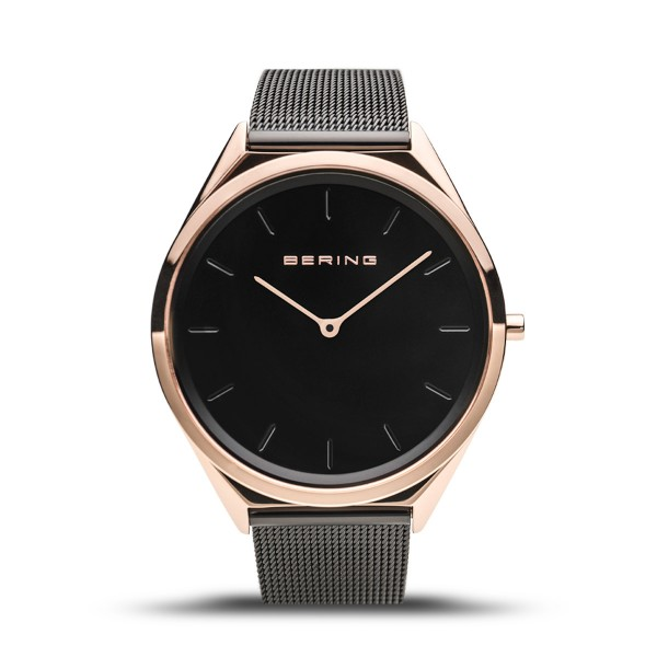 Ultra Slim | polished rose gold | 17039-166