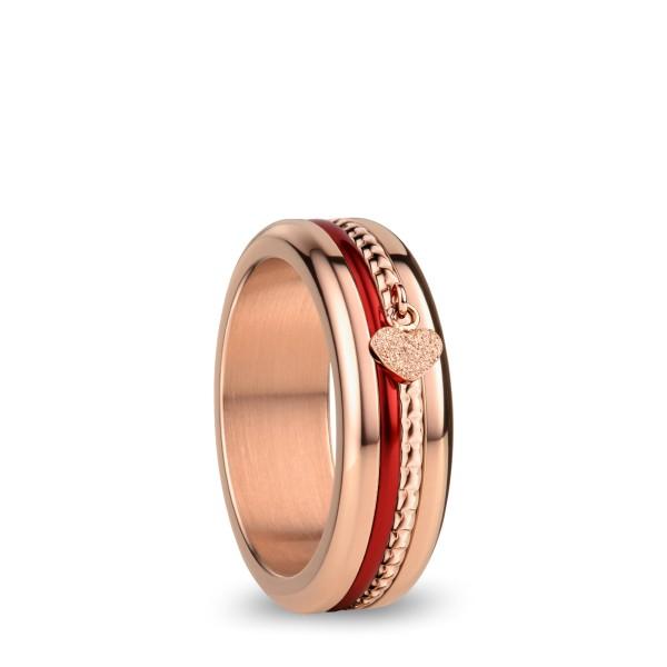 Arctic Symphony | rosé gold glänzend | Ring BeMy