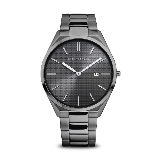 Ultra Slim | grau poliert/gebürstet | 17240-777