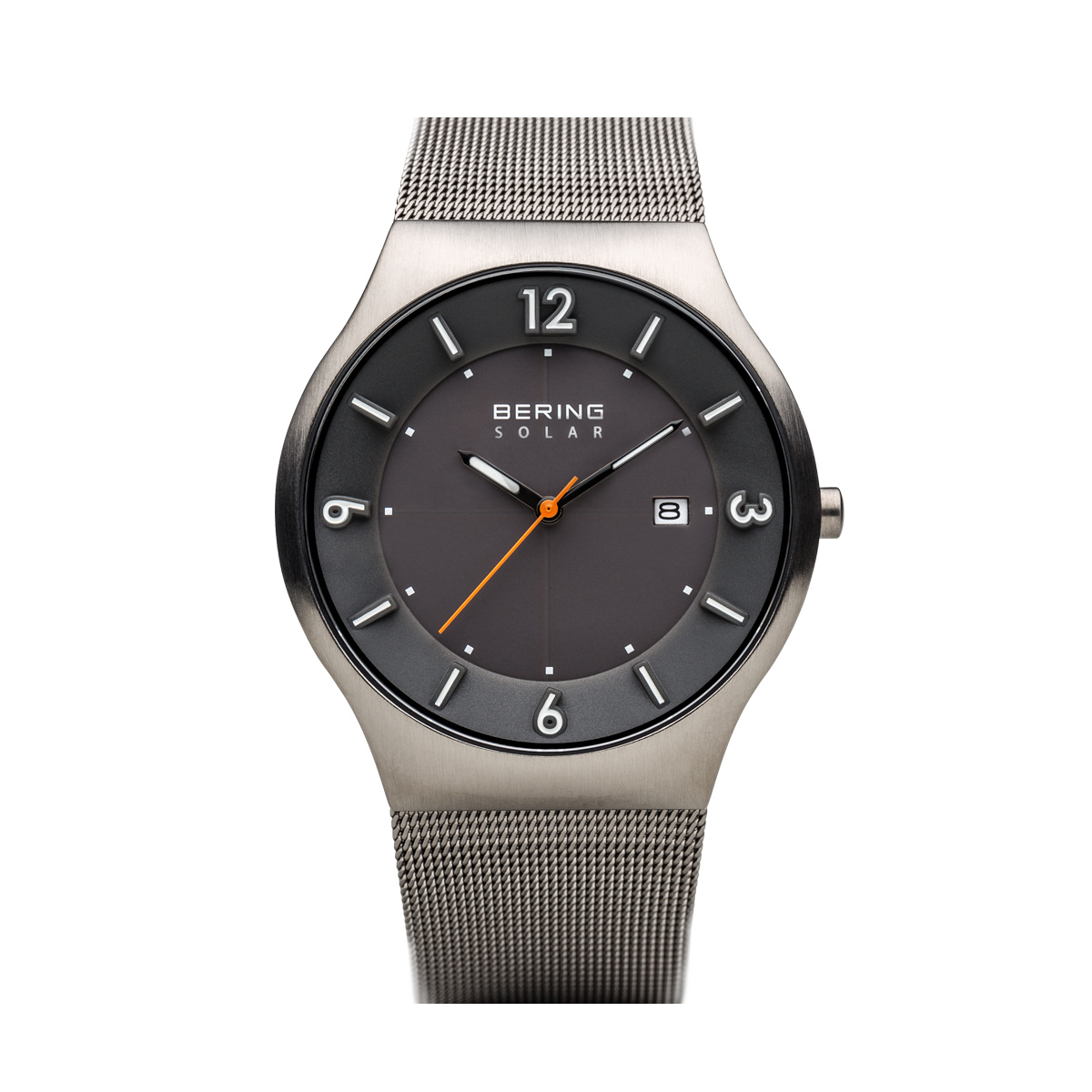 Solar | brushed grey | 14440-077 | BERING ® | Official Website | US Store